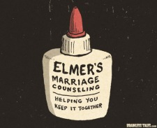 Elmers marriage counseling